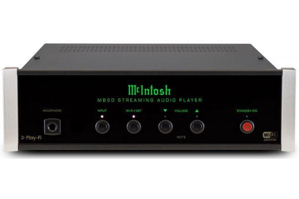 Large image of McIntosh Black Music Streamer - MB50