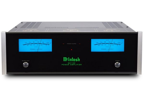 Large image of McIntosh Black 2-Channel Solid State Amplifier - MC152