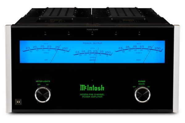Large image of McIntosh 5-Channel Solid State Amplifier - MC255