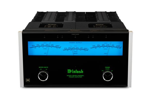 Large image of McIntosh MC257 7-Channel Solid State Amplifier - MC257