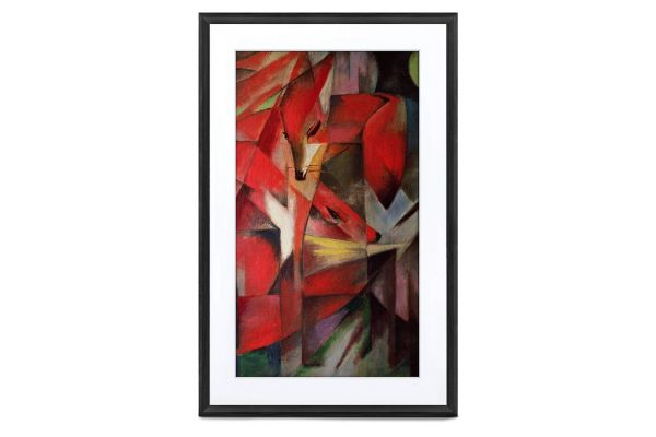 "Large image of Meural Canvas II 27"" Black Digital Picture Frame - MC327BL-100PAS"