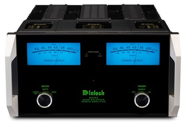 Large image of McIntosh Black 2-Channel Solid State Amplifier - MC462
