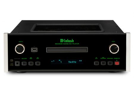 McIntosh Black MCD600 2-Channel SACD/CD Player - MCD600