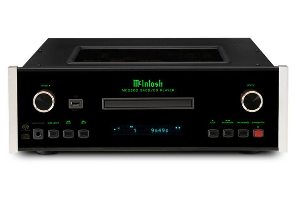 Large image of McIntosh Black MCD600 2-Channel SACD/CD Player - MCD600