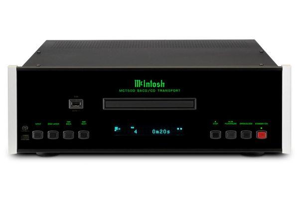 Large image of McIntosh Black 2-Channel SACD/CD Player - MCT500