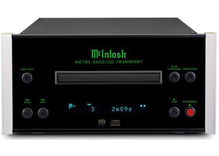 McIntosh Black 2-Channel SACD/CD Transport - MCT80