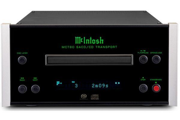 Large image of McIntosh Black 2-Channel SACD/CD Transport - MCT80
