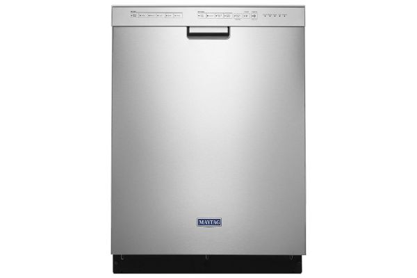 """Large image of Maytag 24"""" Stainless Steel Built-In Dishwasher - MDB4949SHZ"""