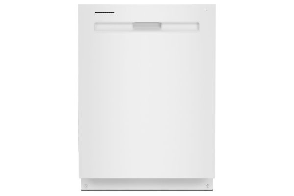 "Maytag 24"" White Top Control Dishwasher With Third Level Rack And Dual Power Filtration - MDB8959SKW"