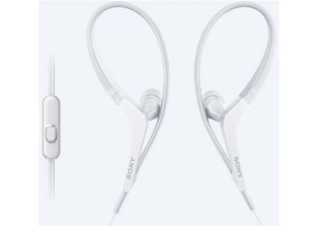 Sony - MDR-AS410AP/W - Earbuds & In-Ear Headphones