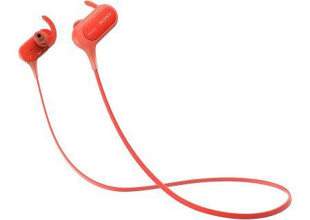 Sony - MDRXB50BS/R - Earbuds & In-Ear Headphones