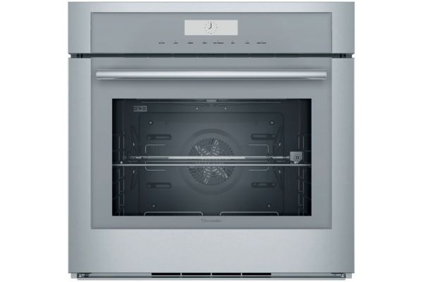 """Large image of Thermador 30"""" Masterpiece Series Stainless Steel Single Built-In Oven - MED301WS"""
