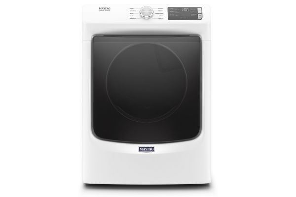 Large image of Maytag 7.3 Cu. Ft. White Electric Dryer - MED5630HW
