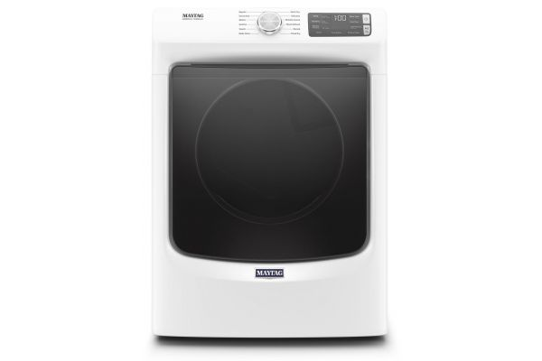 Large image of Maytag 7.3 Cu. Ft. White Electric Dryer - MED6630HW
