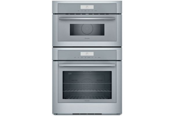 """Thermador 30"""" Masterpiece Series Stainless Steel Combination Wall Oven - MEM301WS"""