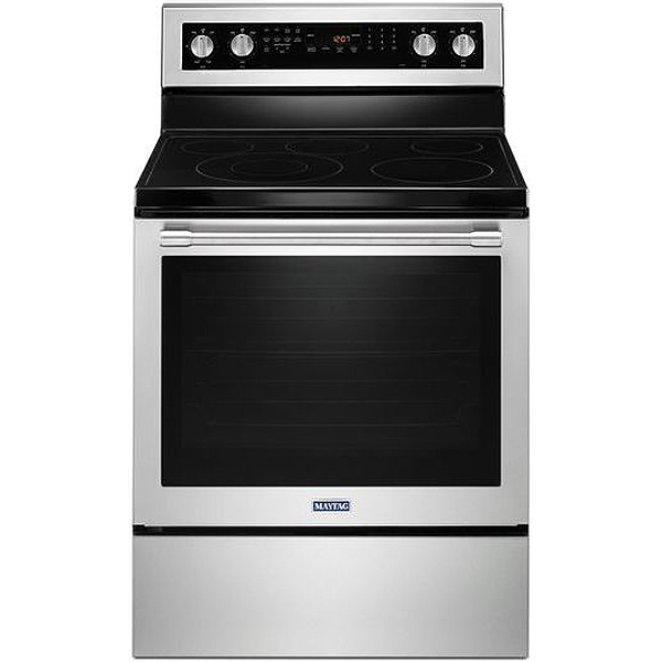 Maytag Stainless Convection Electric Range Mer8800fz