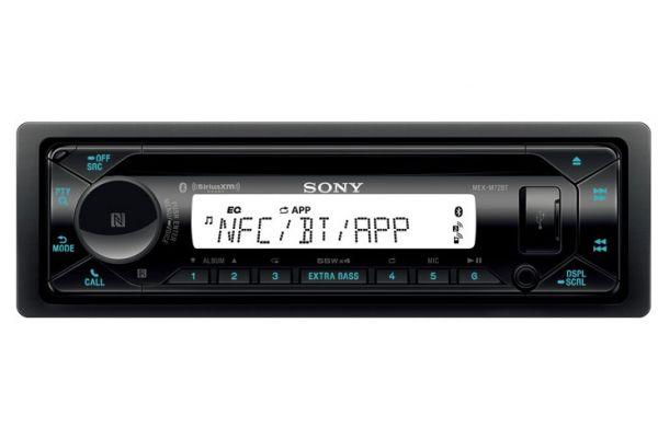 Sony Single DIN Marine Bluetooth CD Receiver - MEX-M72BT