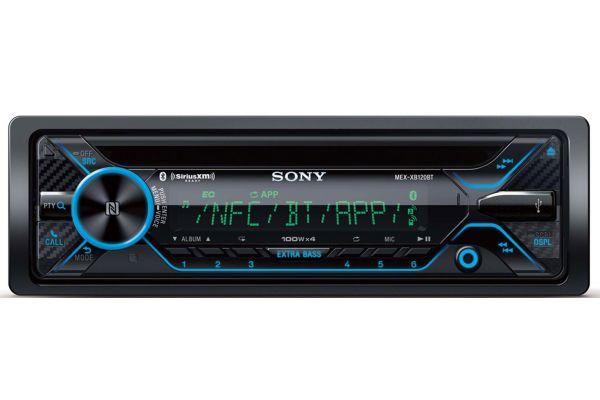 Sony Bluetooth Car Stereo Receiver with 180 Watt RMS - MEXXB120BT