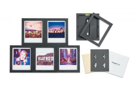 Magnaframe Magnetic 6-Pack Black Picture Frame for Polaroid Originals - MF01001