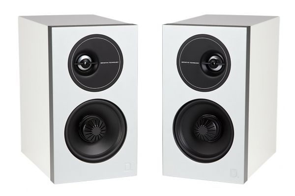 Large image of Definitive Technology DEMAND D7 Gloss White Bookshelf Speakers (Pair) - MFAB