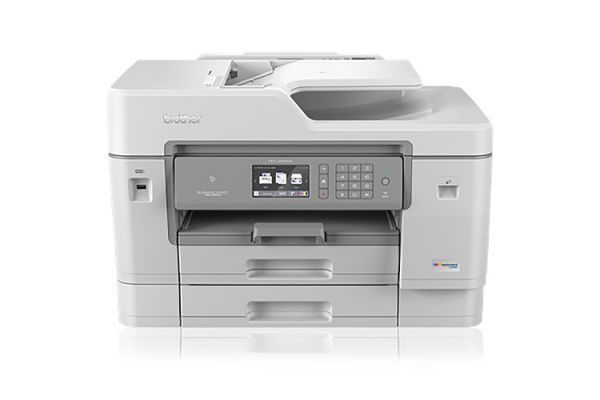 Large image of Brother White INKvestment Tank Color Inkjet All-in-One Printer - MFCJ6945DW