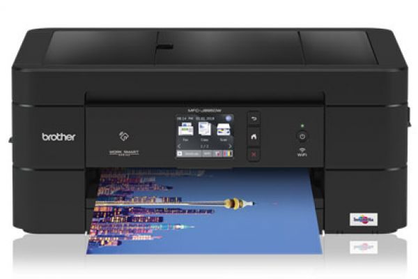 Brother All-In-One Wireless Color Inkjet Printer - MFC-J895DW