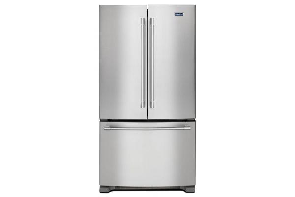 Maytag 22 Cu. Ft. Stainless Steel French Door Bottom Freezer Refrigerator  - MFF2258FEZ