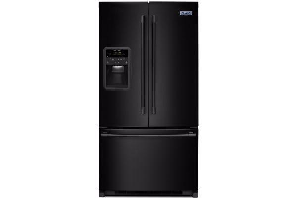 Maytag 22 Cu. Ft. Black French Door Refrigerator - MFI2269FRB