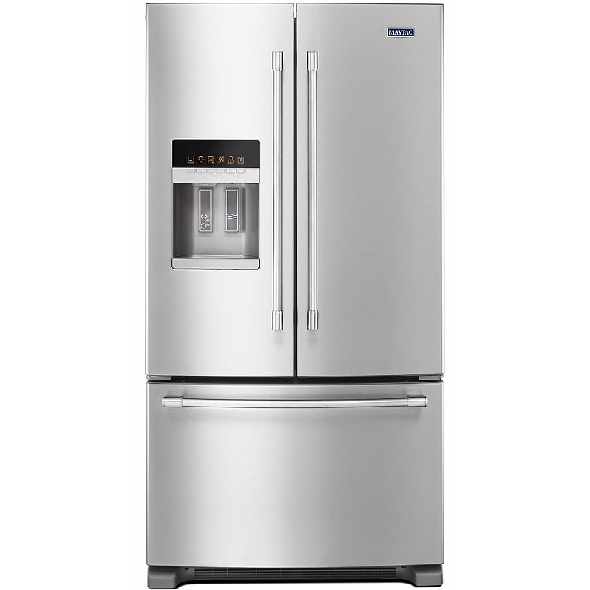 French Door Refrigerators: Maytag Stainless French Door Refrigerator