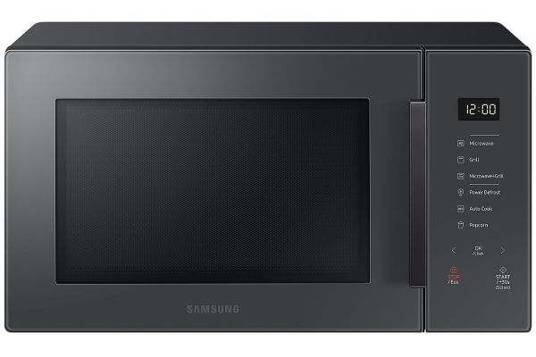 Large image of Samsung 1.1 Cu. Ft. Charcoal Countertop Microwave - MG11T5018CC/AA