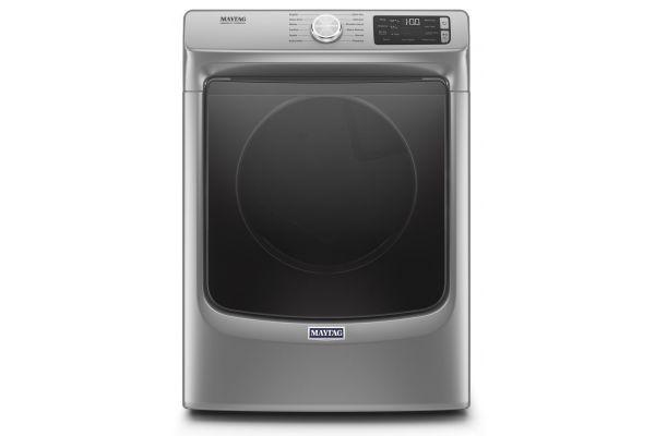 Large image of Maytag 7.3 CU. Ft. Metallic Slate Gas Dryer - MGD6630HC