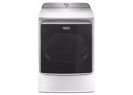 Maytag 9.2 Cu. Ft. White Gas Dryer - MGDB955FW