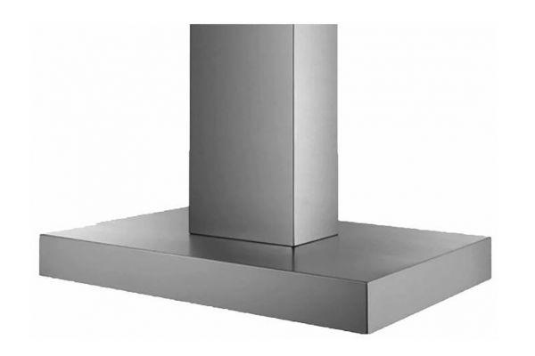 "Large image of BlueStar Designer Series 48"" Stainless Steel Manhattan Wall Hood - MH048MA"