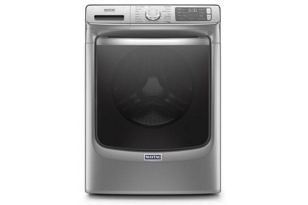 Large image of Maytag 5 Cu. Ft. Metallic Slate Front Load Washer - MHW8630HC