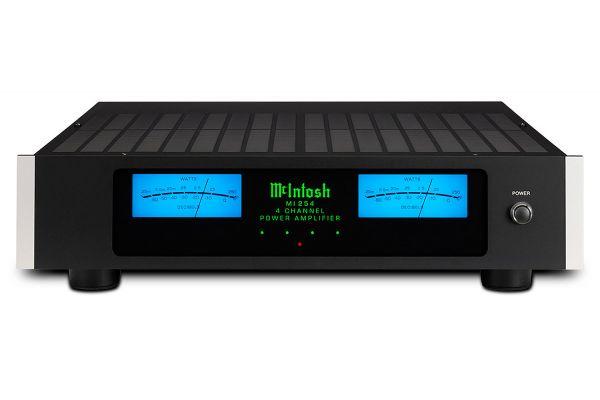 Large image of McIntosh Black 4-Channel Digital Amplifier - MI254