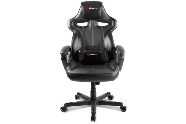Large image of Arozzi Black Milano Gaming Chair - MILANO-BK