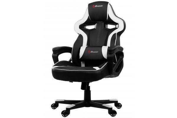 Large image of Arozzi Milano White Gaming Chair - MILANO-WT