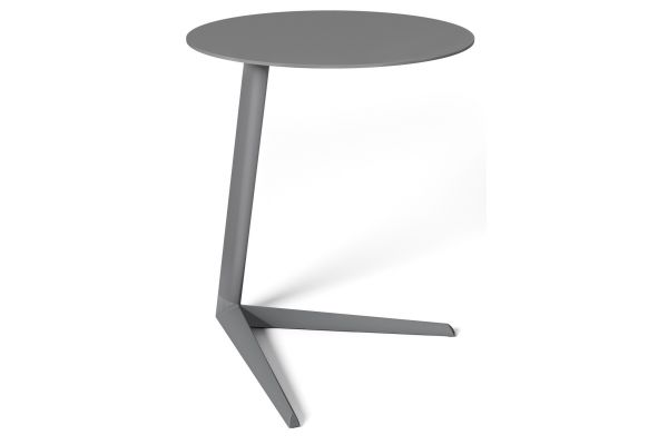 Large image of BDI Milo 1065 Aluminum Mineral Laptop Stand / Side Table - 1065 MN