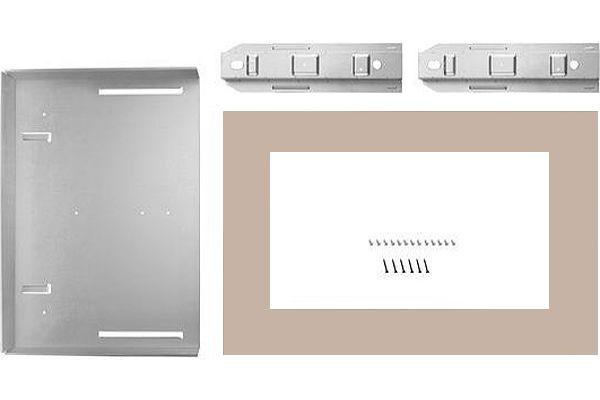 "Large image of KitchenAid 27"" Sunset Bronze Countertop Microwave Oven Trim Kit - MK2227AN"