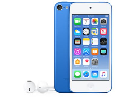 Apple 128GB Blue 6th Gen iPod Touch - MKWP2LL/A