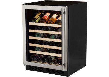"Marvel 24"" Stainless Steel Single Zone Wine Refrigerator - ML24WSG0LS"