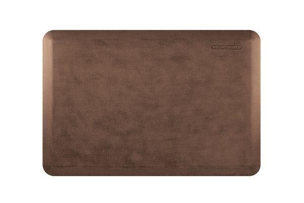 Large image of WellnessMats Linen Collection 3x2 Antique Light Mat - ML32WMRLT