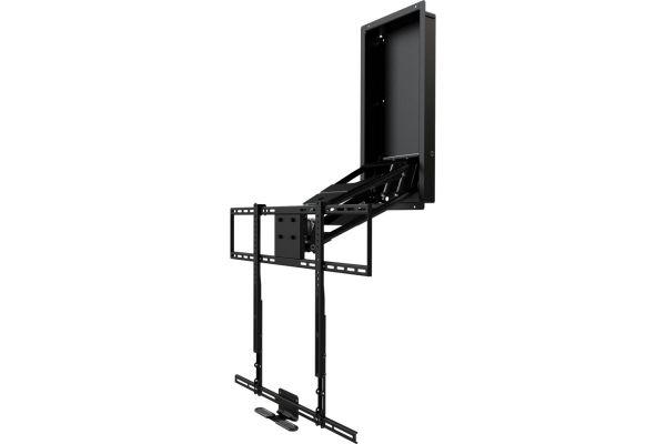 Large image of MantelMount Black Pro Pulldown TV Mount - MM750