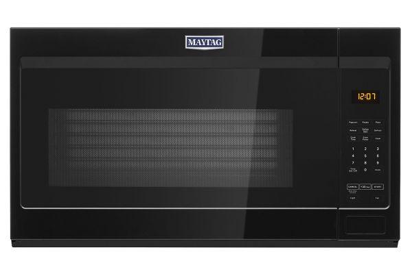 Large image of Maytag 1.9 Cu. Ft. Black Over-The-Range Microwave - MMV1175JB