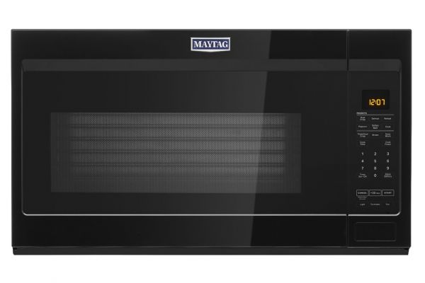 Large image of Maytag 1.9 Cu. Ft. Black Over-The-Range Microwave - MMV4207JB
