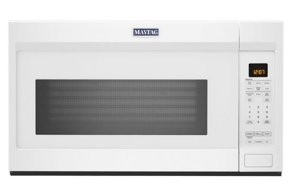 Large image of Maytag 1.9 Cu. Ft. White Over-The-Range Microwave - MMV4207JW