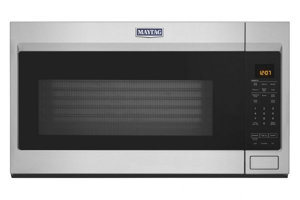 Large image of Maytag 1.9 Cu. Ft. Stainless Steel Over-The-Range Microwave - MMV4207JZ