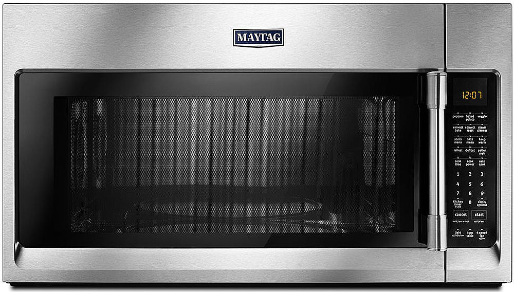 Maytag Stainless Over The Range Microwave Mmv6190fz