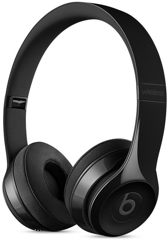 cfa2a5d83f4 Beats By Dr. Dre Solo3 Gloss Black Wireless On-Ear Headphones - MNEN2LL/