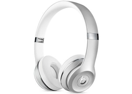 Beats By Dr. Dre Solo3 Silver Wireless On-Ear Headphones - MNEQ2LL/A